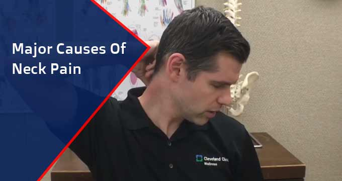 major causes of neck pain
